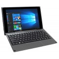 "Windows 2-in-1 Tablet/Laptop, 10.1"" Screen, Metallic Black (BASIC SOFTWARE pre-installed)"