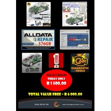 SUPER AUTOMOTIVE SOFTWARE COMBO SPECIAL (IN STOCK - LESS 80%)